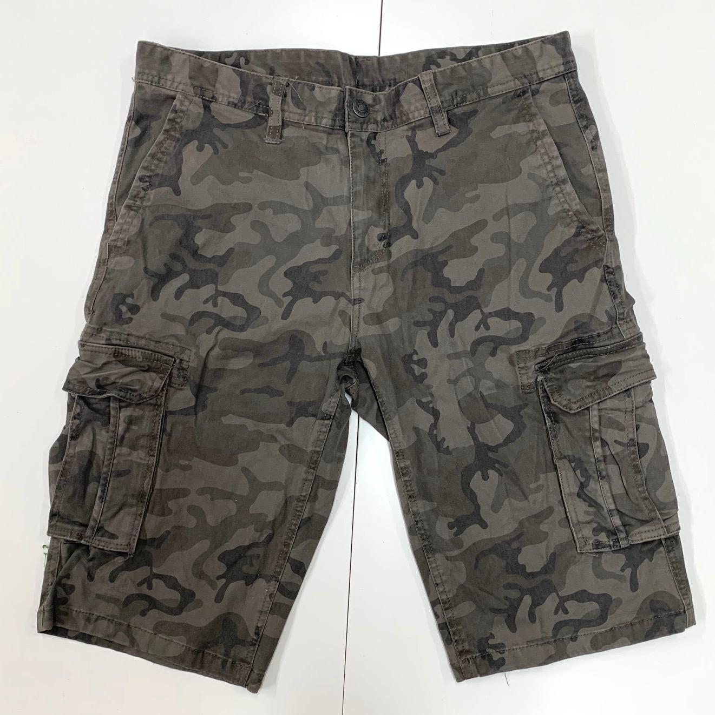Камуфляжные мужские шорты OSTIN