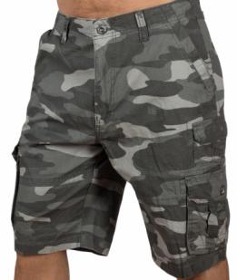 Камуфляжные мужские шорты от Iron Co