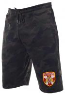 Камуфляжные надежные шорты с нашивкой Росгвардия