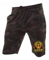 Камуфляжные надежные шорты с нашивкой СССР