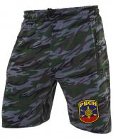 Камуфляжные особые шорты с карманами и нашивкой РВСН