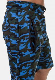 Камуфляжные особые шорты с нашивкой Росгвардия - купить в подарок