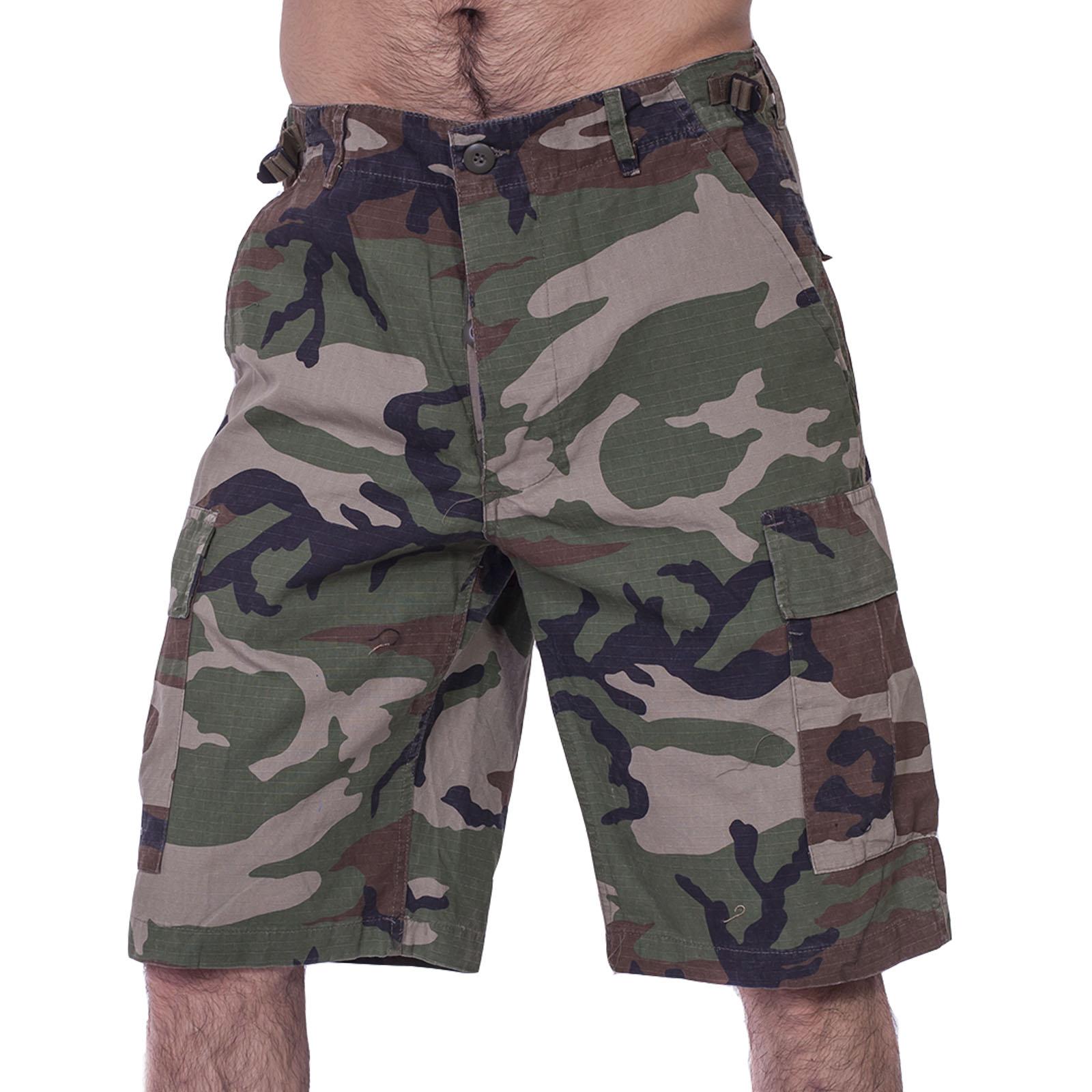 Камуфляжные шорты бермуды от немецкого бренда Brandit