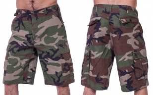 Заказать камуфляжные шорты бермуды от немецкого бренда Brandit