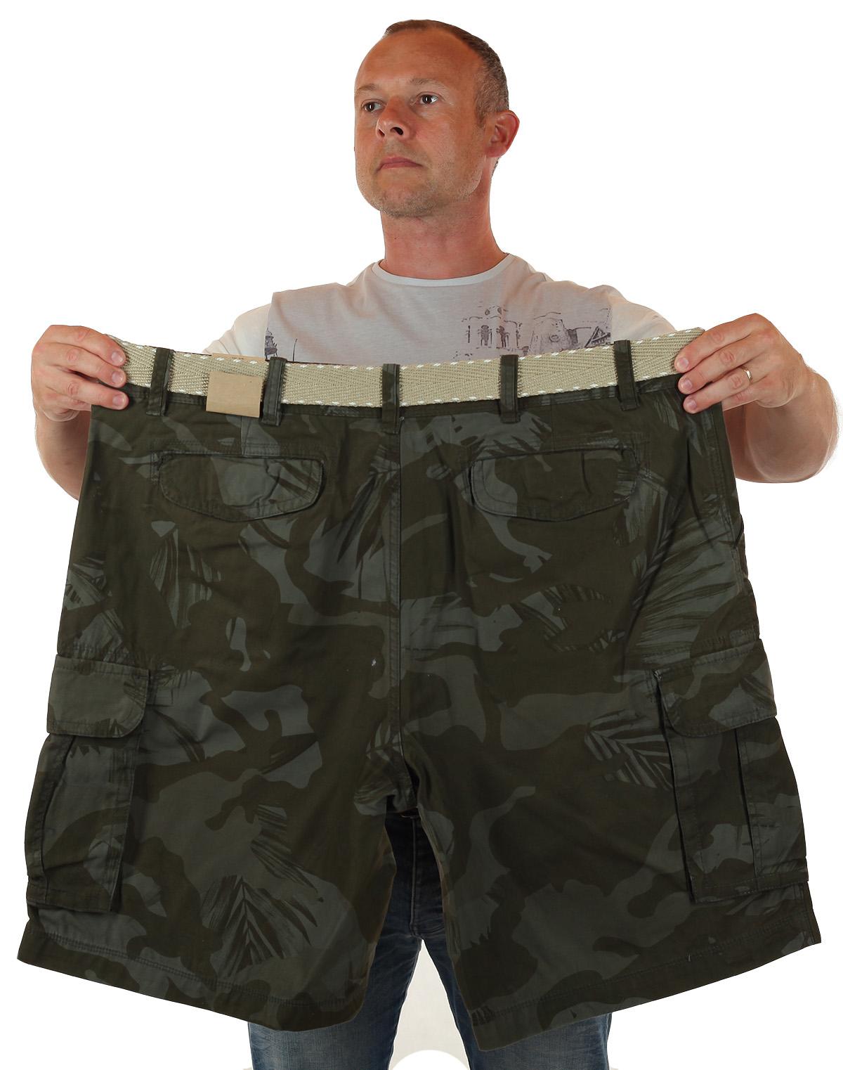 Купить камуфляжные шорты большого размера по низкой цене