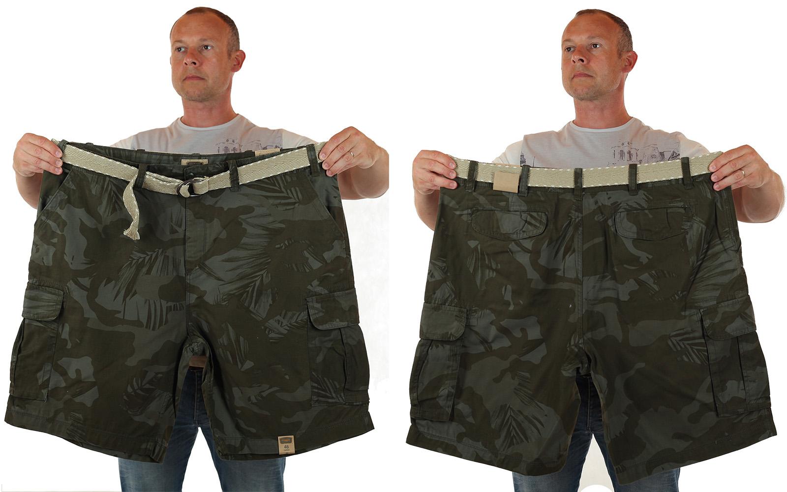 Камуфляжные шорты большого размера по выгодной цене