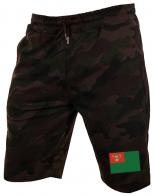 Камуфляжные шорты для пограничников.