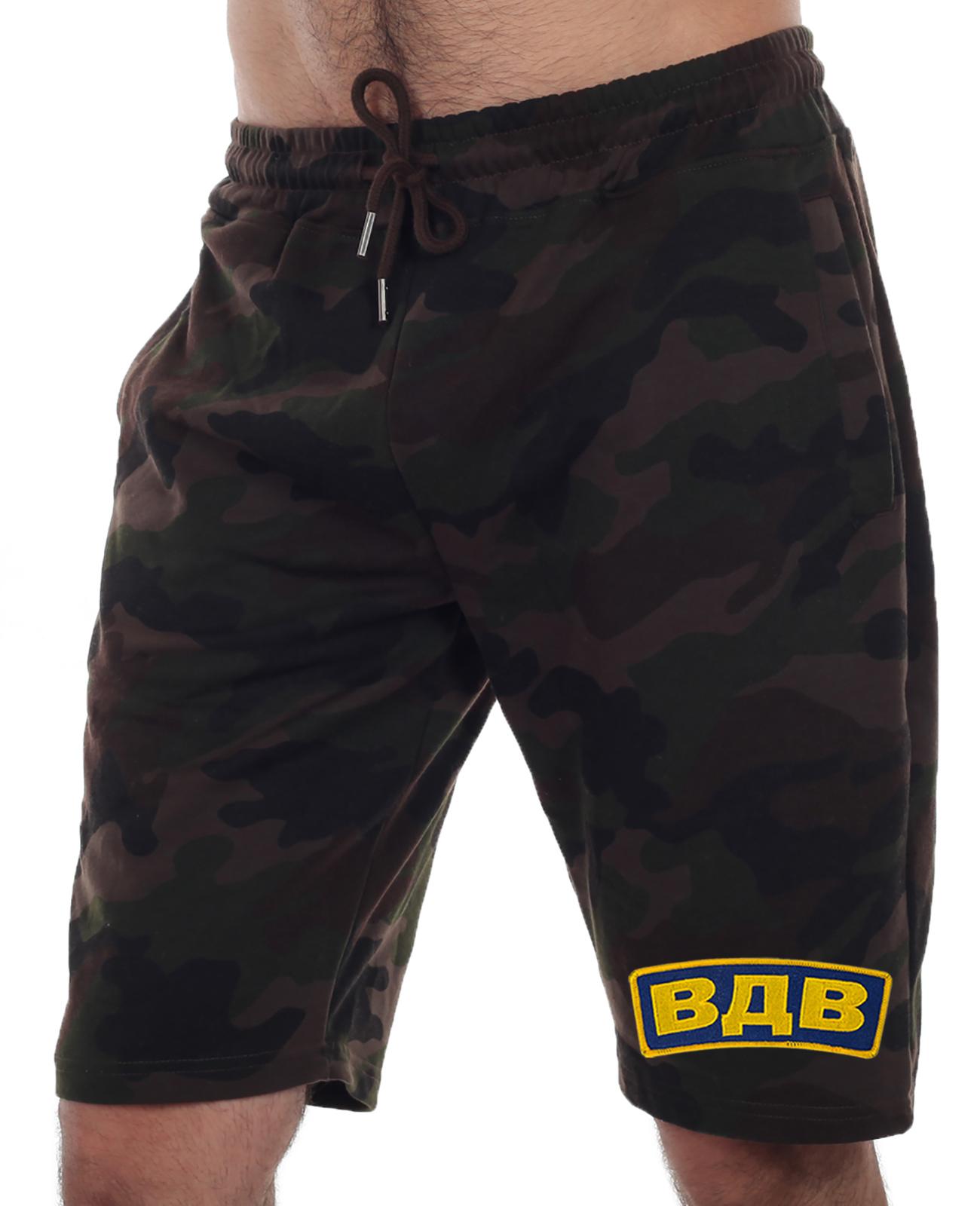 Купить в интернет магазине хлопковые мужски шорты на резинке
