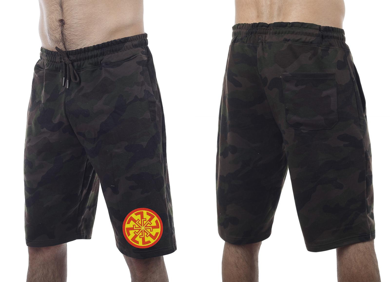 Камуфляжные шорты Military заказать в Военпро