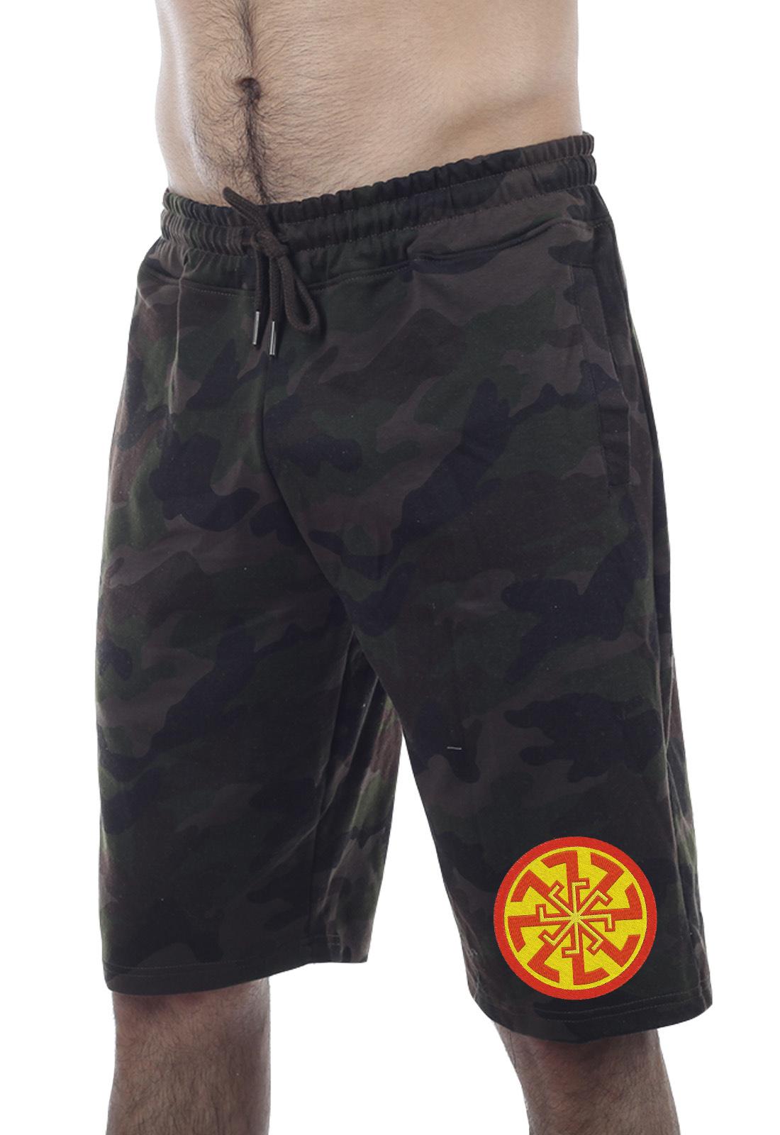 Камуфляжные шорты Military