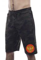 Камуфляжные шорты мужские