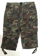 Камуфляжные шорты мужские с накладными карманами