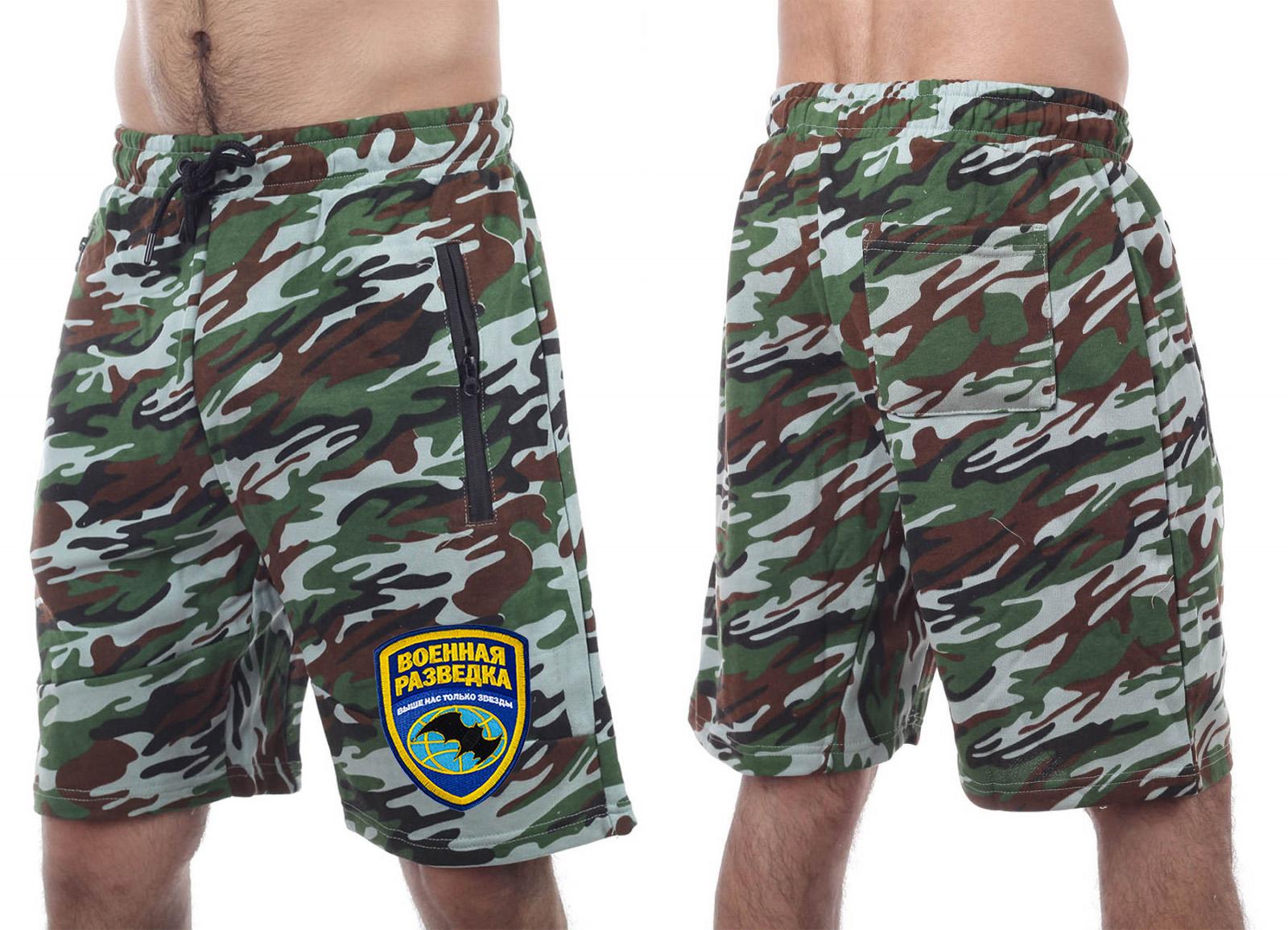Камуфляжные шорты New York Athletics.