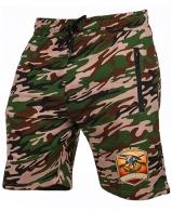 Камуфляжные шорты охотнику удлиненного кроя
