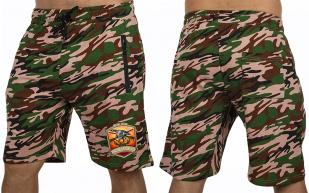 Камуфляжные шорты охотнику удлиненного кроя - заказать выгодно
