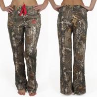 Камуфляжные женские штаны Mossy Oak®