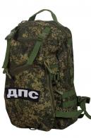 Камуфляжный армейский рюкзак с нашивкой ДПС