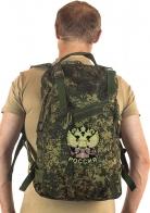 Камуфляжный армейский рюкзак с нашивкой Герб России