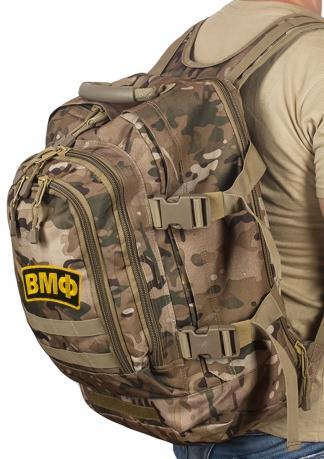 Камуфляжный армейский рюкзак с нашивкой ВМФ - купить онлайн