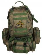 Камуфляжный большой рюкзак с нашивкой РХБЗ
