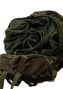Камуфляжный большой рюкзак с нашивкой Русская Охота - заказать в Военпро