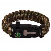 Камуфляжный браслет тактического назначения для активного отдыха