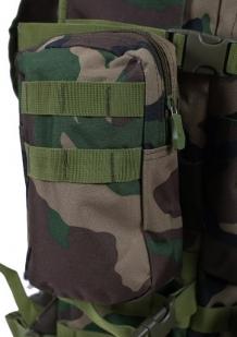 Камуфляжный эргономичный рюкзак с нашивкой ДПС - купить в розницу