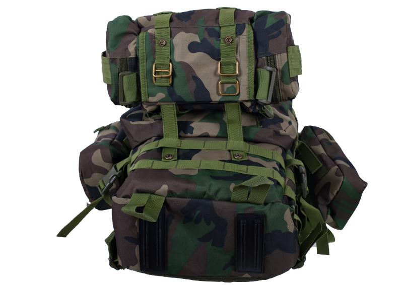 Камуфляжный эргономичный рюкзак с нашивкой ДПС - купить в подарок
