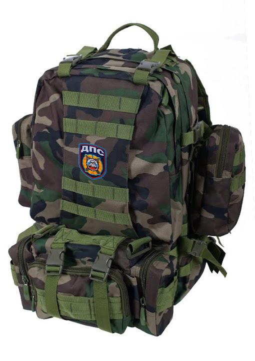 Камуфляжный эргономичный рюкзак с нашивкой ДПС - купить выгодно
