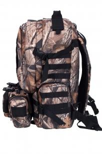 Камуфляжный крутой милитари-рюкзак с нашивкой ДПС - купить по низкой цене