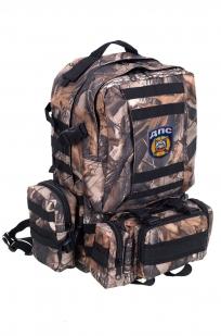 Камуфляжный крутой милитари-рюкзак с нашивкой ДПС - купить онлайн