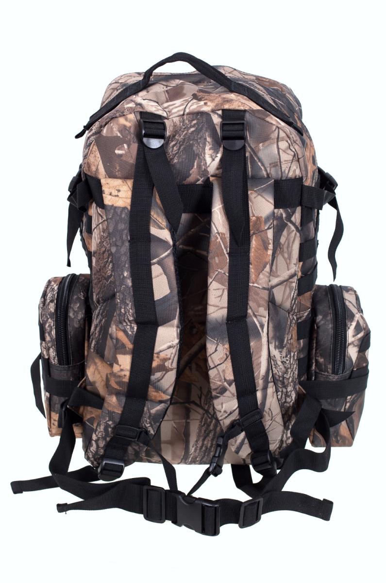 Камуфляжный крутой милитари-рюкзак с нашивкой ДПС - купить с доставкой