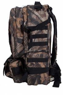 Камуфляжный крутой милитари-рюкзак с нашивкой Герб России - заказать онлайн