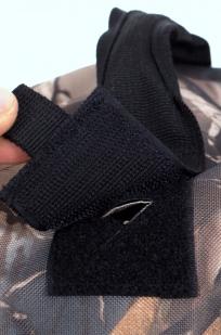 Камуфляжный крутой милитари-рюкзак с нашивкой Герб России - заказать оптом