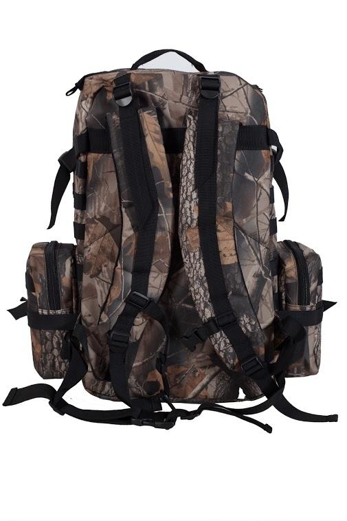 Камуфляжный крутой милитари-рюкзак с нашивкой Герб России - заказать в Военпро