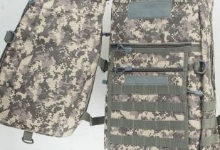 Камуфляжный мужской рюкзак с нашивкой Ни Пуха ни Пера - купить оптом