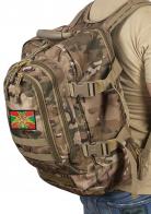 Камуфляжный мужской рюкзак с нашивкой ПОГРАНВОЙСКА
