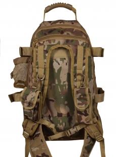 Камуфляжный надежный рюкзак с нашивкой Полиция России - купить в Военпро