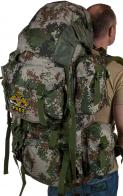 Камуфляжный надежный рюкзак с нашивкой РХБЗ