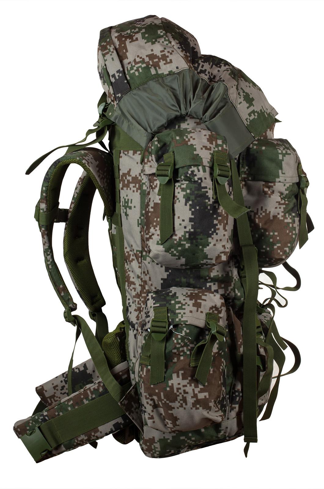 Камуфляжный надежный рюкзак с нашивкой РХБЗ - купить в Военпро
