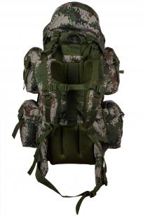 Камуфляжный надежный рюкзак с нашивкой РХБЗ - купить с доставкой