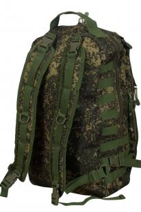 Камуфляжный однодневный рюкзак с нашивкой МВД - заказать в розницу