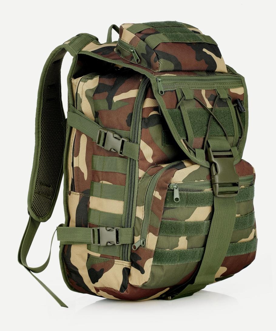 Камуфляжный походный рюкзак для ноутбука с доставкой по России