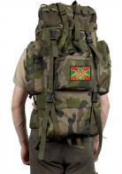 Камуфляжный повседневный рюкзак с нашивкой Погранвойск