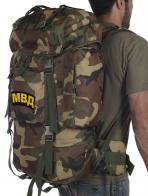 Камуфляжный рейдовый рюкзак CCE с нашивкой МВД - купить онлайн