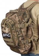 Камуфляжный рюкзак с нашивкой ДПС