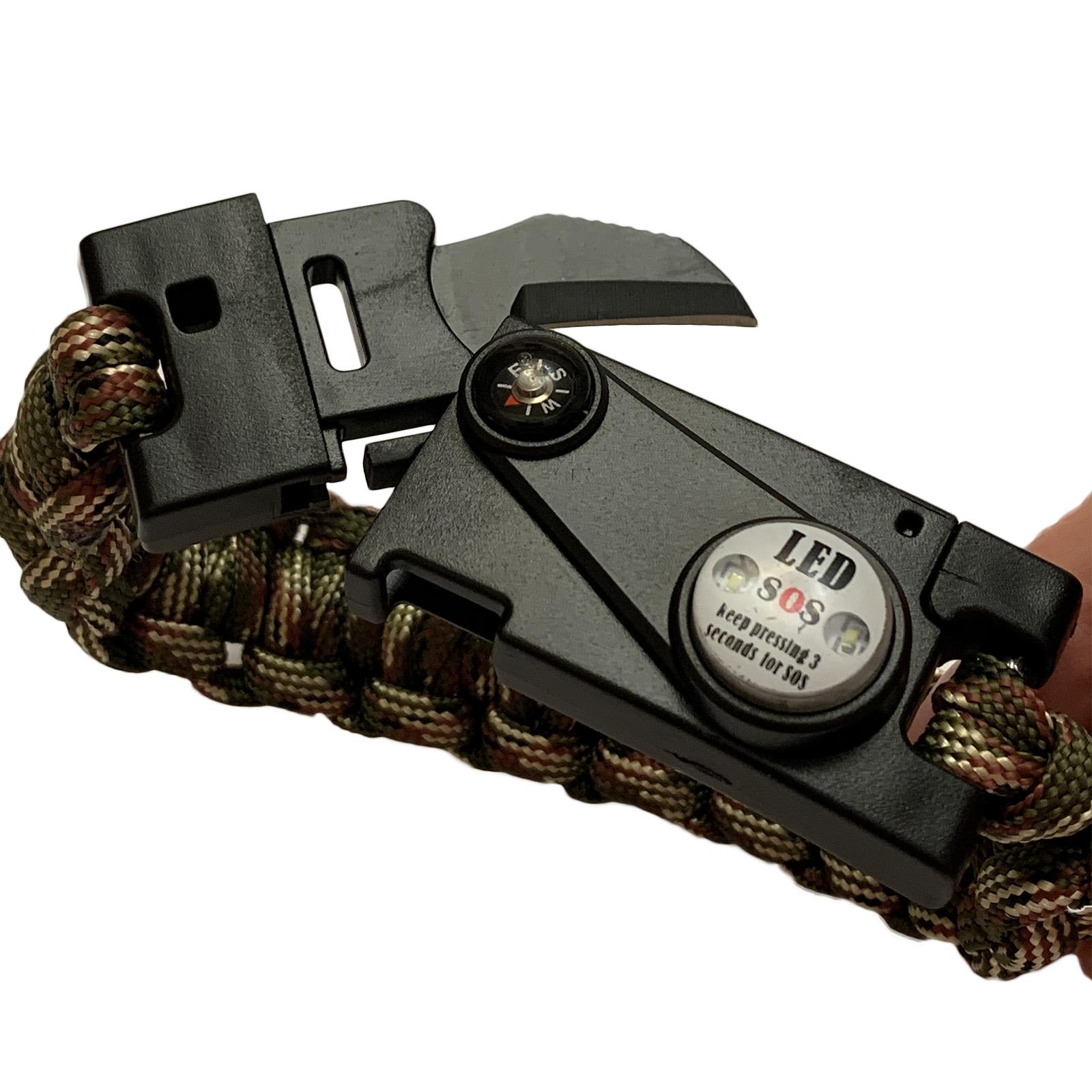Военные плетеные браслеты для мужчин
