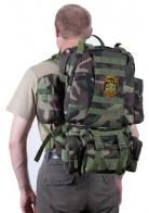 Камуфляжный тактический рюкзак с нашивкой Афган - купить онлайн