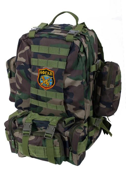 Камуфляжный тактический рюкзак с нашивкой Афган - купить в подарок