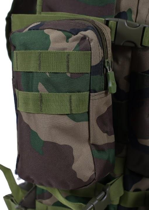 Камуфляжный тактический рюкзак с нашивкой Полиция России - купить в Военпро